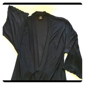 Ladies Very Soft Mid Length Robe